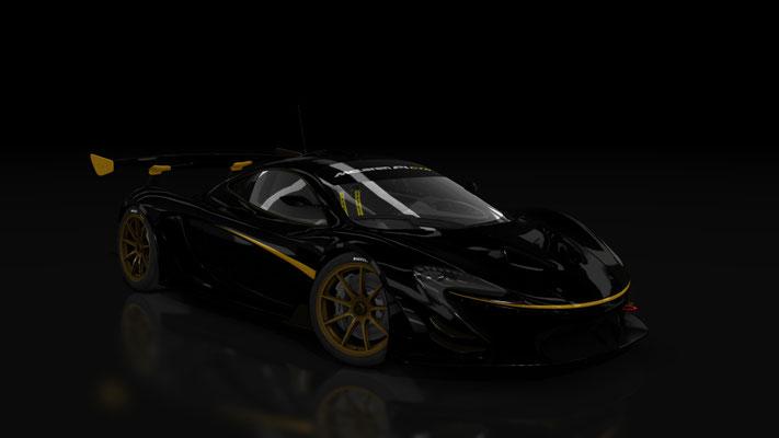 P1 GTR Black Gold
