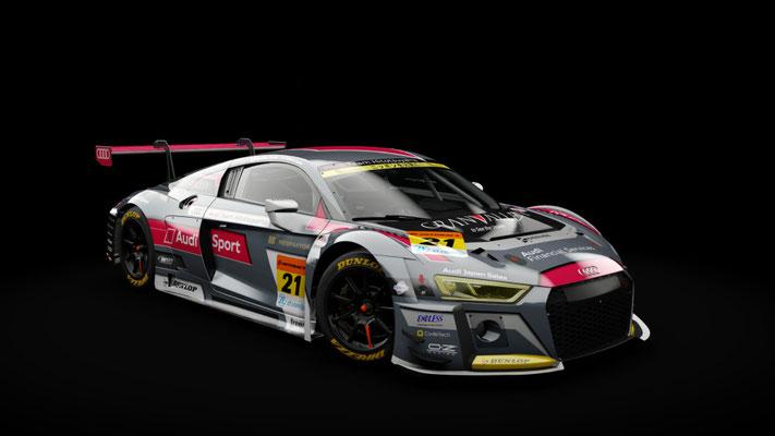 Super GT 2018: Hitotsuyama Audi R8 LMS / Audi Team Hitotsuyama #21