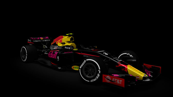Aston Martin Red Bull Formula One Concept - Color Pack - RSS Formula Hybrid