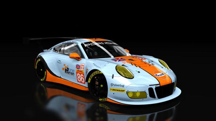 Porsche 911 GT3 R 2016 - Gulf Racing