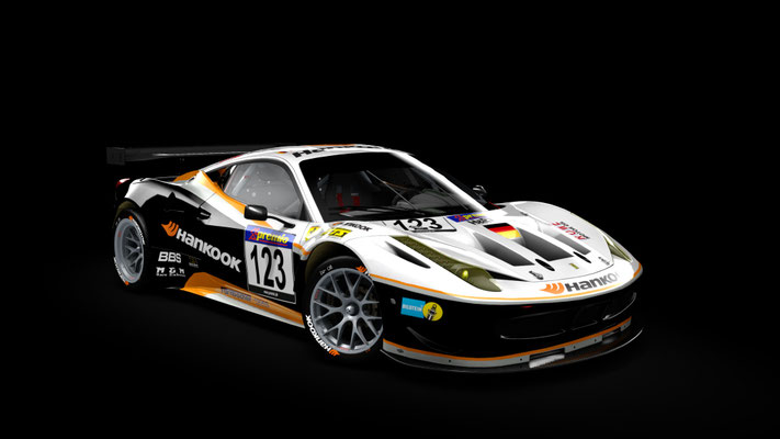 Farnbacher Racing 458 GT2 VLN 2011