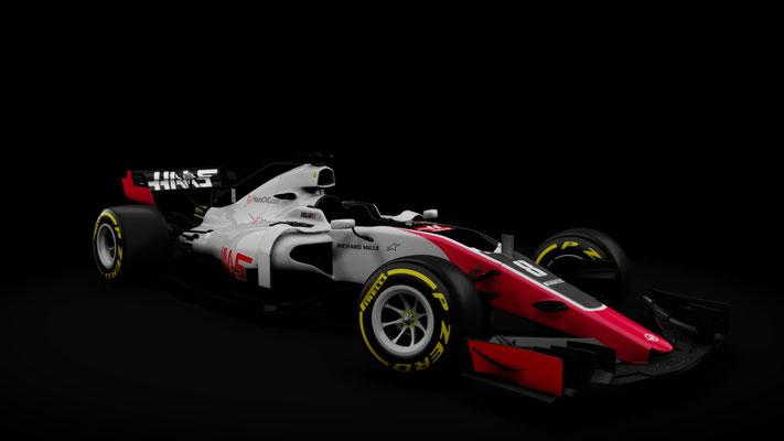 f1 2018 Haas Formula hybrid