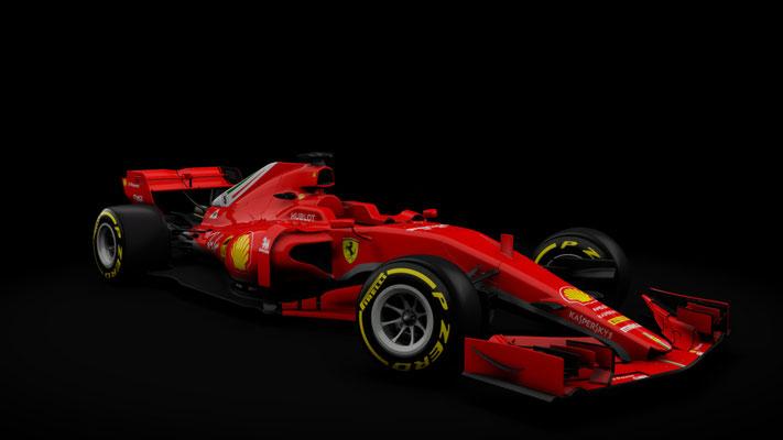 f1 2018 Ferrari Formula hybrid