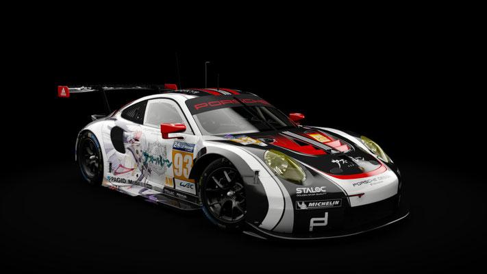 """KS Porsche 911 RSR 2017 - Azur Lane """"IJN Shoukaku"""" Itasha Skin"""