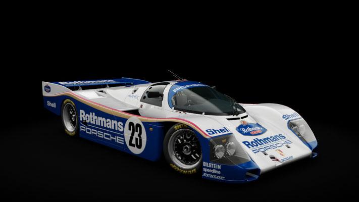 Porsche 962C Longtail Rothmans