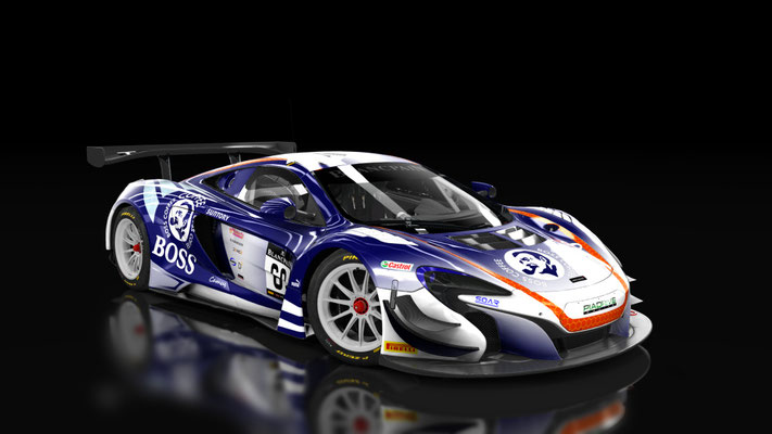 McLaren 650S GT3 team BOSS