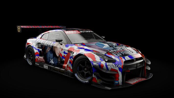 Nissan NISMO GT-R GT3 - Marvel Motorsport