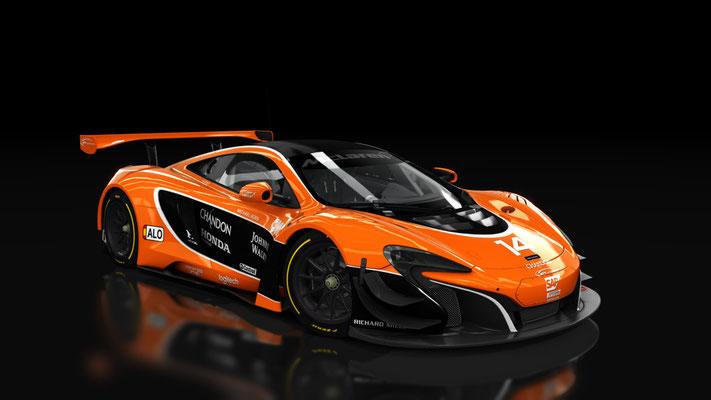 McLaren 650S GT3 MCL32