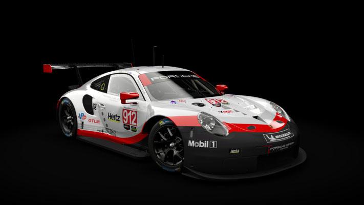 Porsche 911 RSR - IMSA 2018 - 4K Team Skins