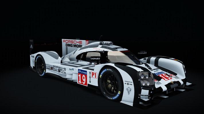 Porsche Team Le Mans 2015