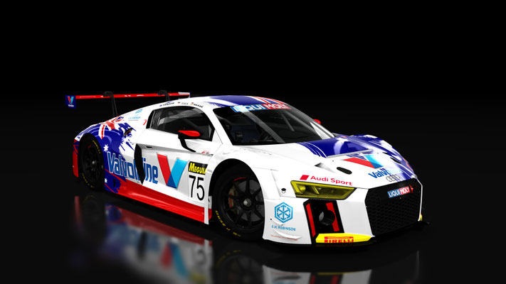 Audi r8 lms 2016 Endurance Bathurst 12 hour 2017 Jamec Pem Racing #74 #75