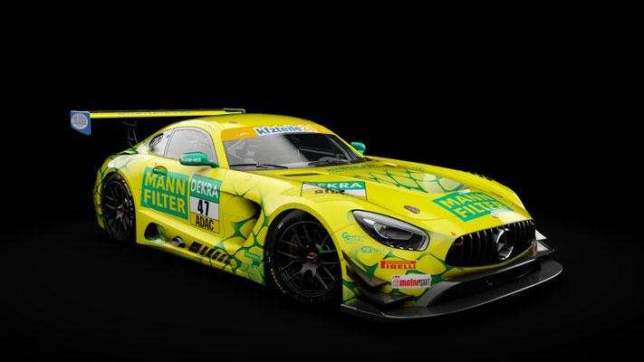 Mercedes-AMG GT3 [MANN FILTER Mamba | ADAC GT Masters 2018]