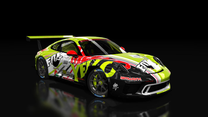 911 GT3 CUP - YELLO MELLO