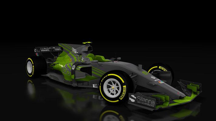 Formula Hybrid Sauber C36 Skin by SeanBull