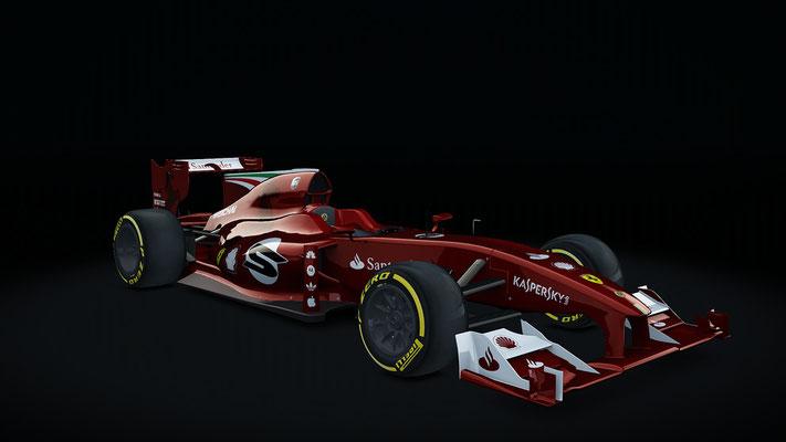 Ferrari fiction livery