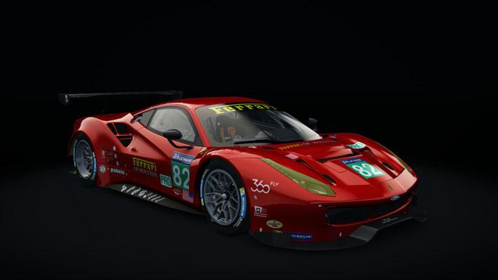 Risi Competizione #82 Le Mans