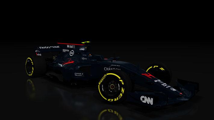 F1 Mclaren Honda Hybrid MP4-31