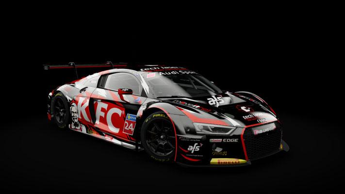 Audi R8 LMS - Tony Bates Racing - Adelaide 2018