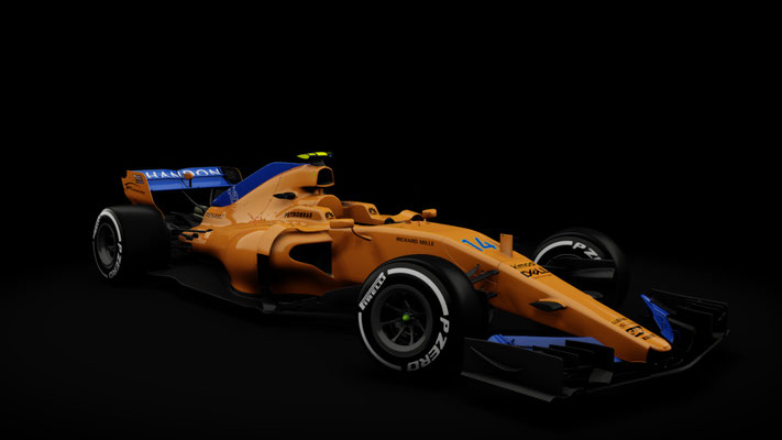 MCL33 - Alonso and Vandoorne
