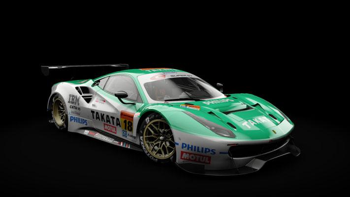#18 Takata Ferrari 488 GT300