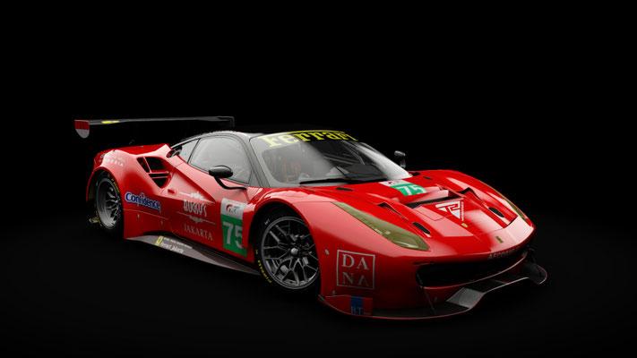 Ferrari 488 GT3 T2 Motorsports #75
