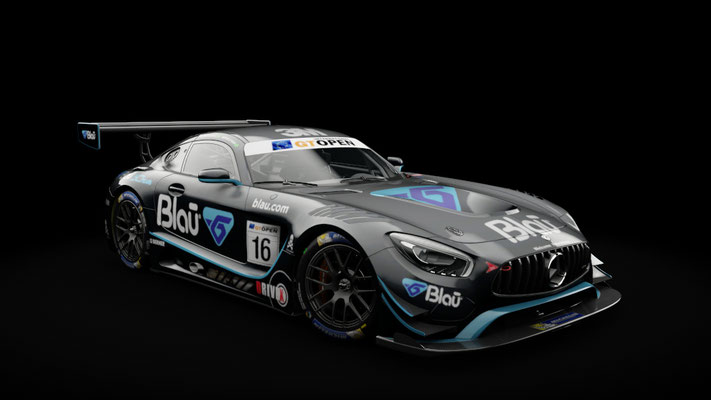 AMG GT3 Blau Farmaceutica International GT Open 2017