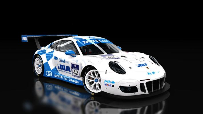 KS Porsche 911 GT3 R 2016 INA Livery