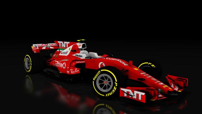 Scuderia Ferrari Vodafone Formula One - SF71-H Assetto Cors