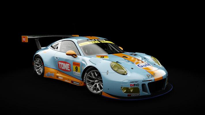 Super GT 2018: GULF NAC Porsche 911 / PACIFIC with GULF RACING #9