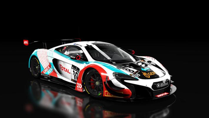Fictional Blancpain Tekno McLaren 650S GT3