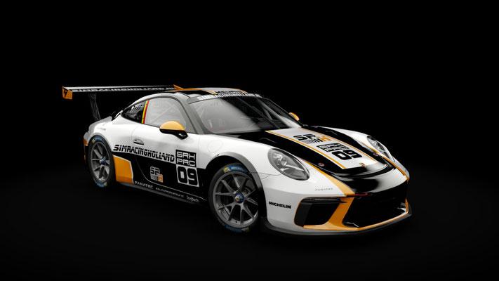 SRH Porsche 911 GT3 Cup 2017 skin pack