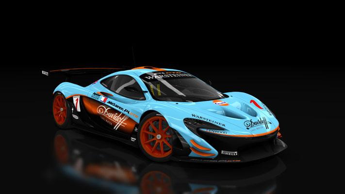 McLaren P1 GTR Gulf Davidoff