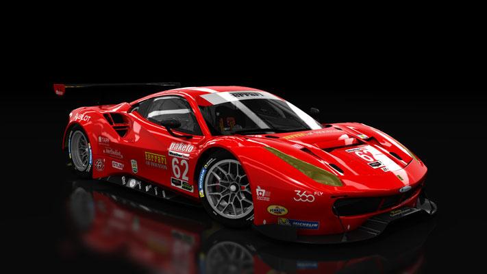 WeatherTech SportsCar Championship Ferrari 488 Risi Competizione #62 IMSA 2017