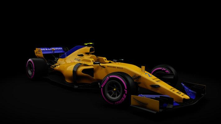 Formula Hybrid   McLaren MCL33 2018