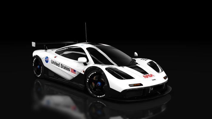 NASA McLaren F1 GTR