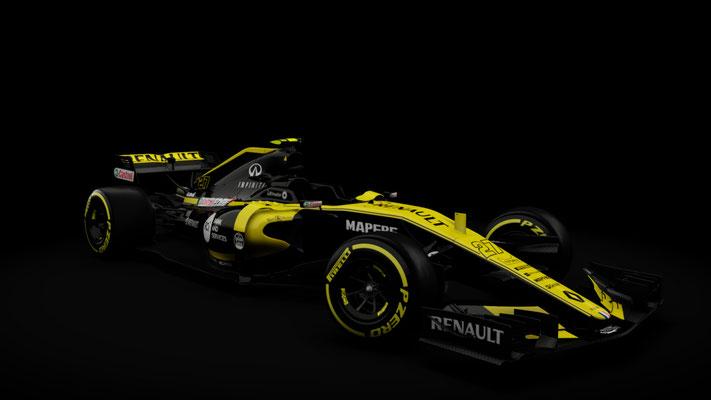 Renault R.S. 18 Formula One - Assetto Corsa Formula Hybrid RSS