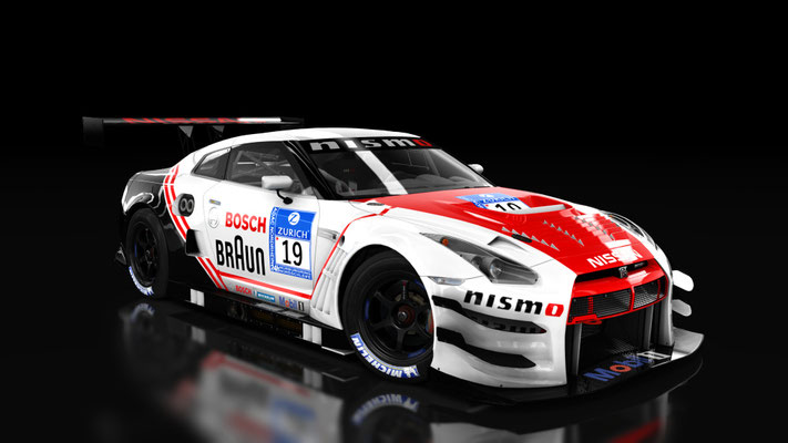 Nissan Nismo GTR GT3 Bosch skin