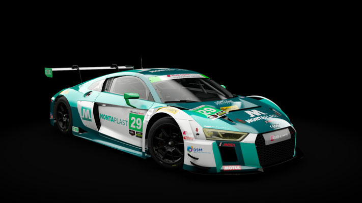 Audi R8 GTD #29 Land-Motorsport IMSA 2018 Daytona Version