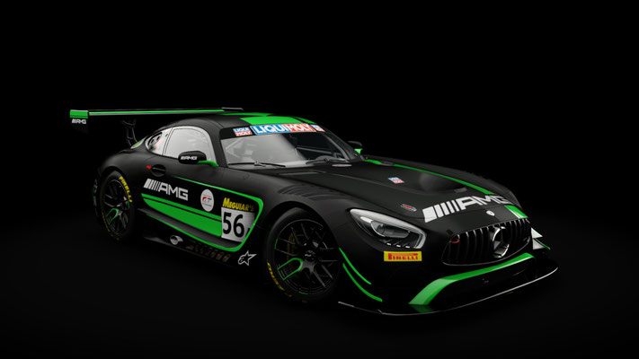 Mercedes AMG GT3 Strakka Racing Bathurst 12hrs #55 #56