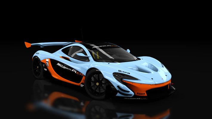 McLaren P1 GTR _Gulf