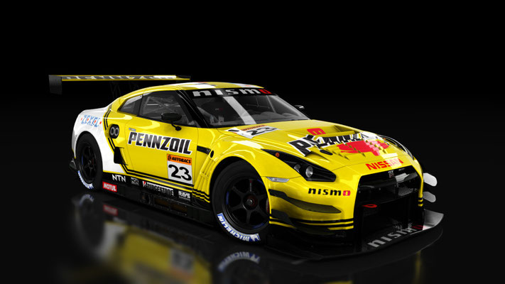 2001 Pennzoil Zexel Nissan GT-R Skin for Nissan Nismo GT-R GT3