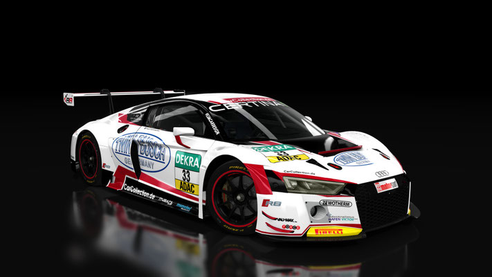 Audi R8 LMS - Car Collection #33 Twin Busch ADAC GT Masters 2016