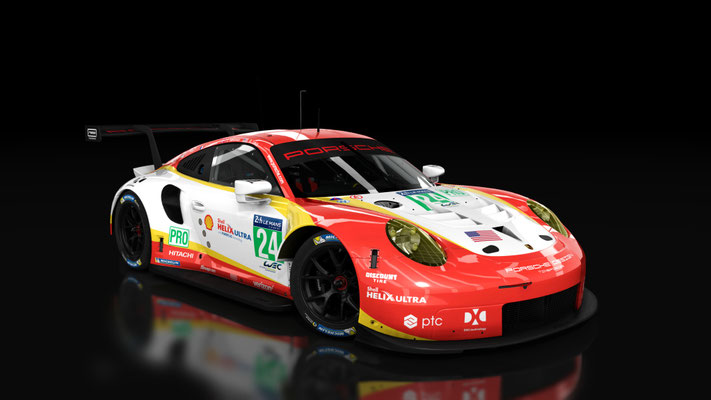 #24 Porsche 911 RSR Team Penske Shell
