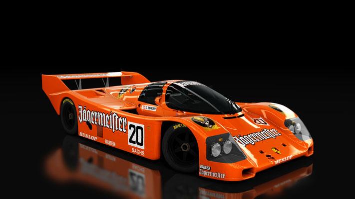 Porsche 962C Shorttail: Brun Motorsport Jagermeister (1985)