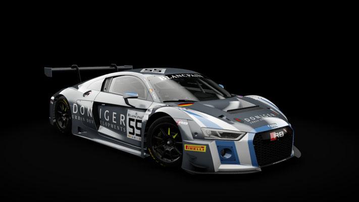 Audi R8 LMS 2016 - Attempto Racing #55 #66 Blancpain 2018