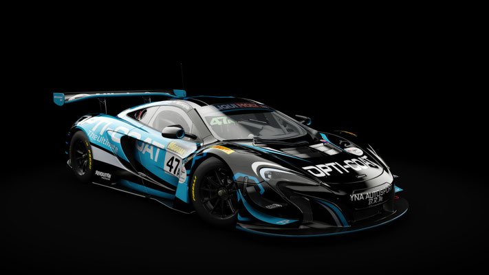 McLaren 650S GT3 YNA Autosport 2018 Bathurst 12h