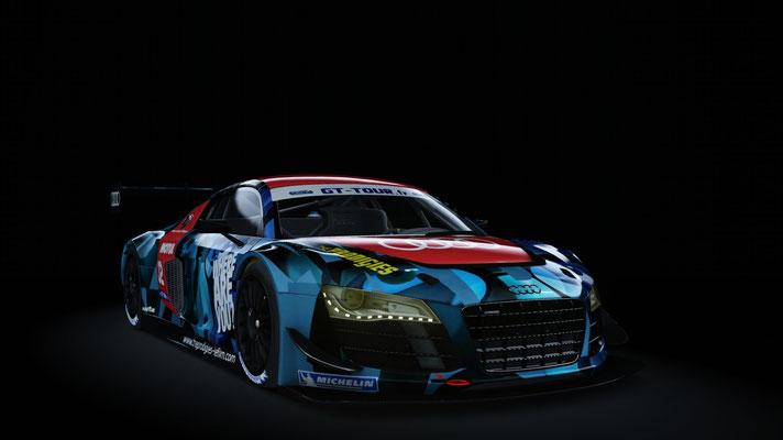 team Audi France - GT Tour 2011 Dijon