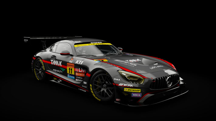 SUPER GT 2017: Rd.8 (Motegi) GT300 skin pack