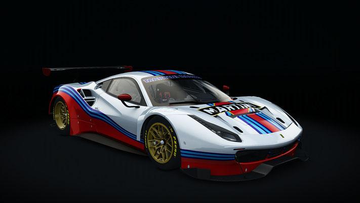 Fictive Martini Racing Skin