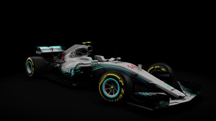 Formula Hybrid 2017 - Mercedes W09 SkinPack